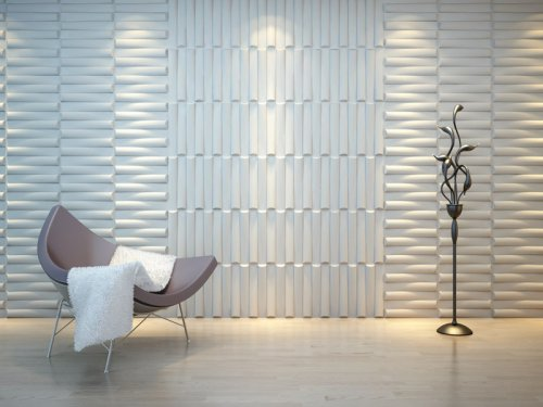 Lorena cavalcanti parede de gesso 3d for Placas pvc para paredes