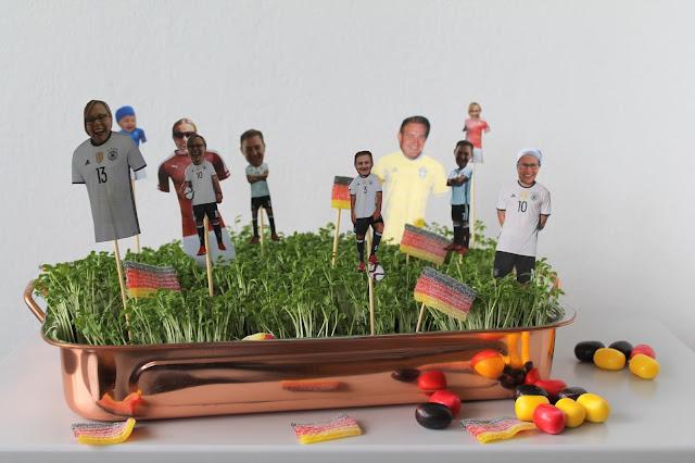 DIY Deko EM Kressebeet Jules kleines Freudenhaus