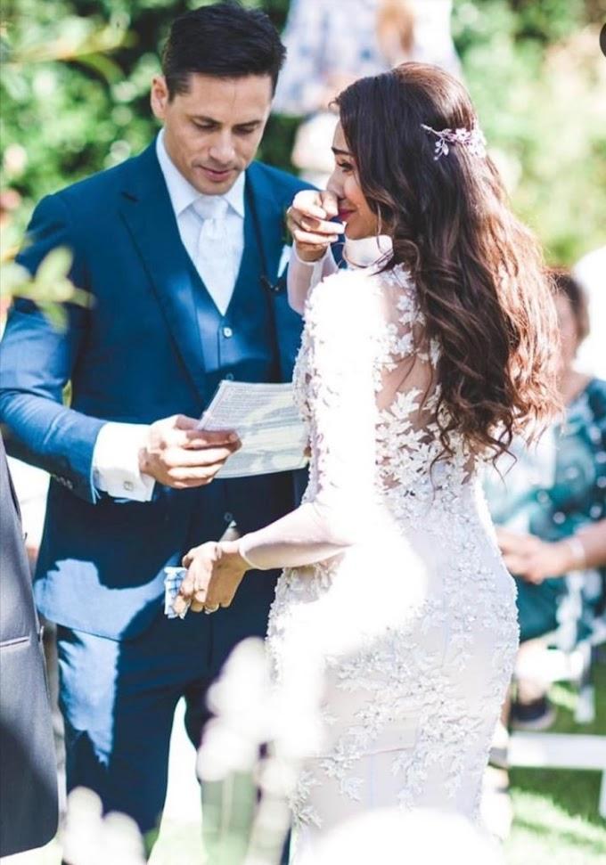 Kongsi Foto Kahwin Cara Barat, Perminat Tertanya Status Agama Suami Raja Ilya.