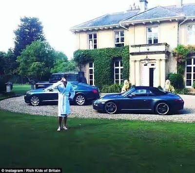 Extreme Luxury!! British Rich Kids show off their wealthy lifestyle on instagram.