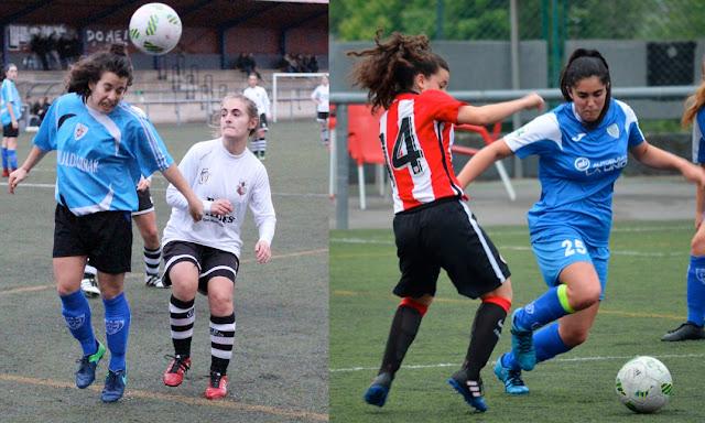 Fútbol | Itsasne Diez y Arrate Pérez suben al primer equipo del Pauldarrak desde el filial