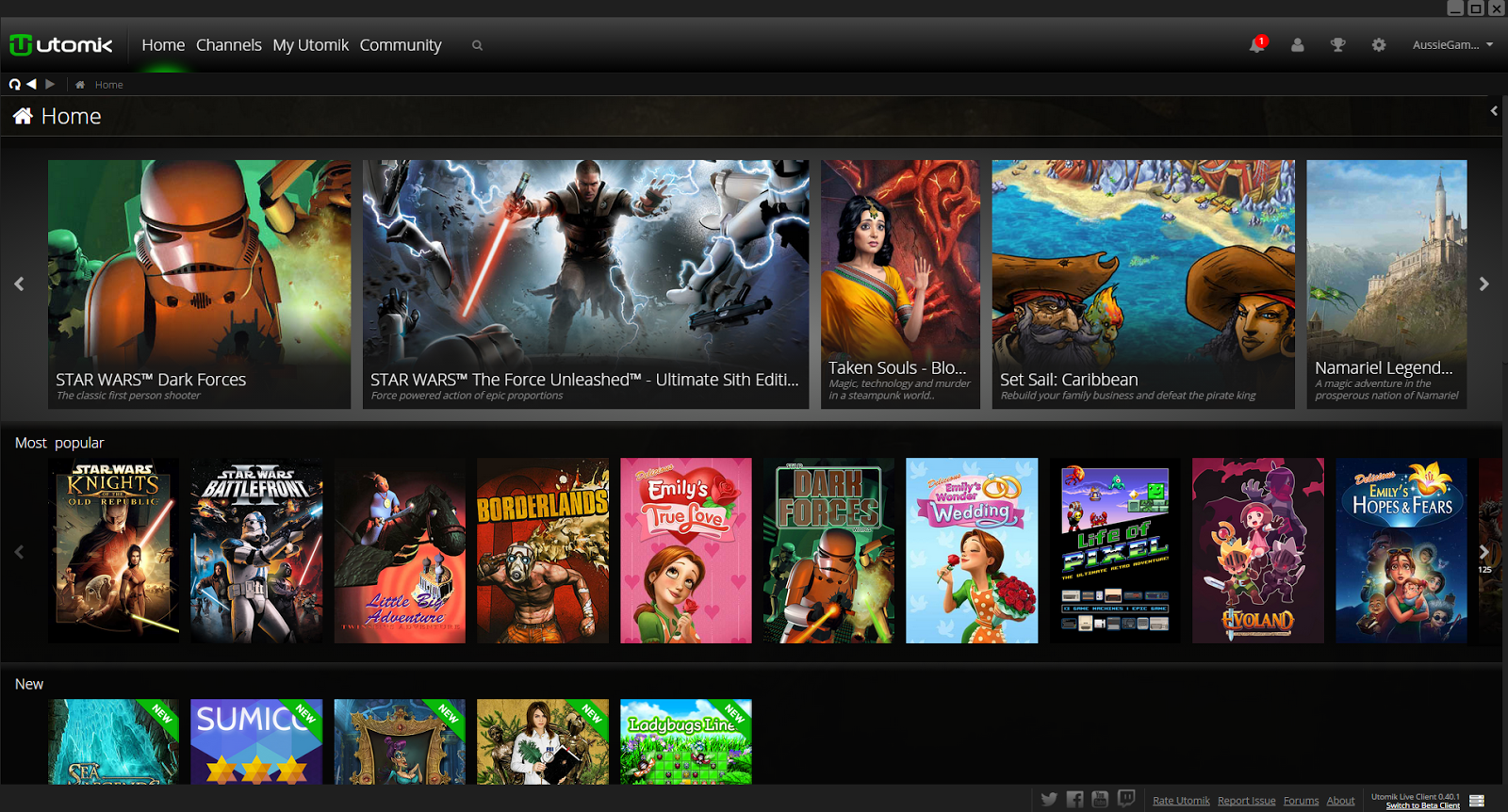 utomik subscription gaming for pc aussie gamers express you will be presented with a well thought out interface which really does resemble netflix in design you will see games that listed under popular headings