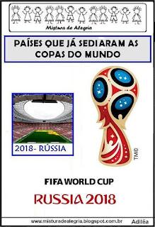 Países sedes copas do mundo