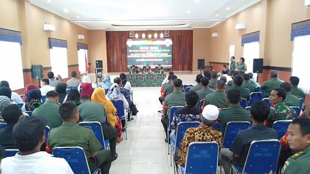 Ketua Tim SERGAP TNI AD : TNI Turun ke Sawah Karena Sudah Darurat
