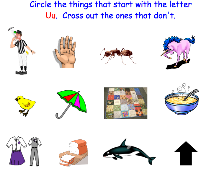 Things Starting Letter V