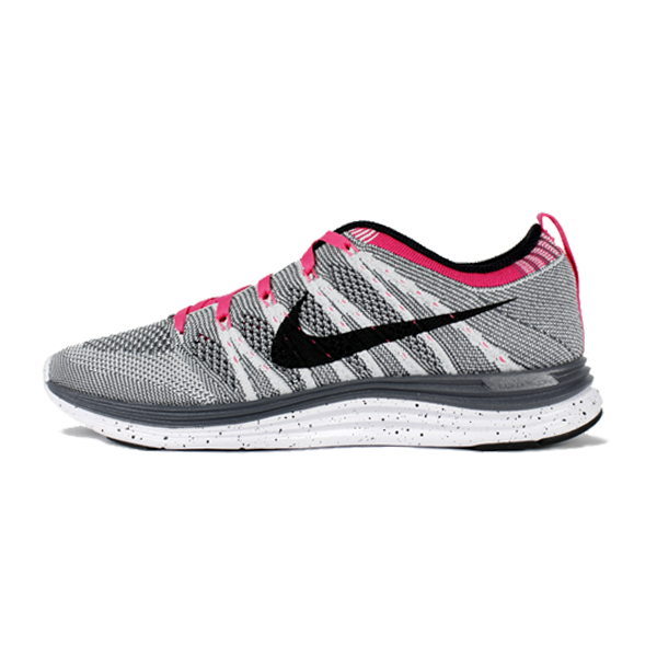 173f77c5e08a Nike Women s Flyknit Lunar One+. Pure Platinum   Black   Dark Grey   Pink  Flash. 554888-001