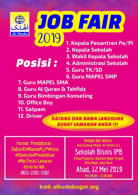 Job Fair Al Huda Bogor