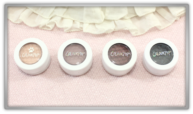 Colourpop super shock shadow eyeshadow bill stereo bae puppy love haul review blog beauty creamy matte pearlized metallic