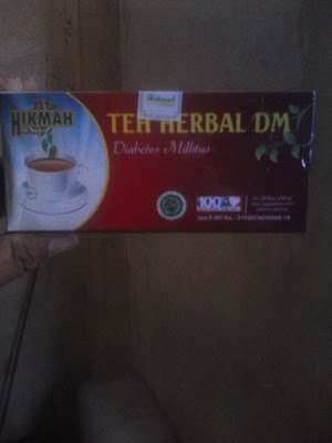 Jual Teh Celup Herbal Diabetes Melitus ( DM ) di Surabaya
