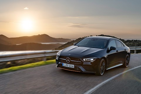 The new Mercedes-Benz CLA Coupe