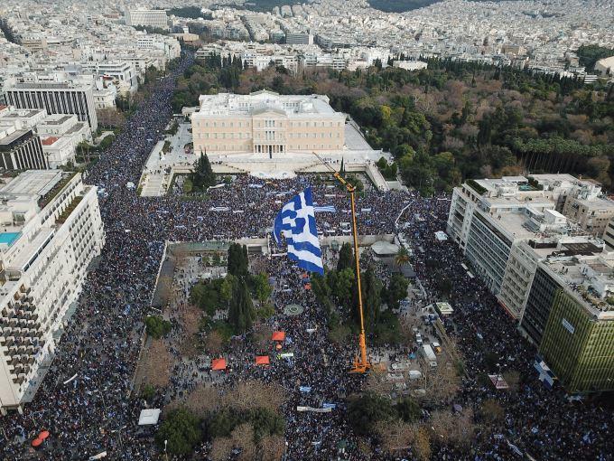 Ν. #Λυγερός - Και το #Συλλαλητήριο της Αθήνας είναι πλέον ιστορικό -- #Ελλάδα και καθεστώς #προπαγάνδας