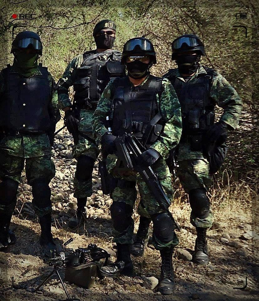Soldados Mexicanos Encapuchados Zona de guerra sin censura página 570