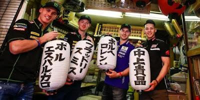 Nakagami panduan Lorenzo, Smith dan Pol Espargaro Jadi Turis di Tokyo