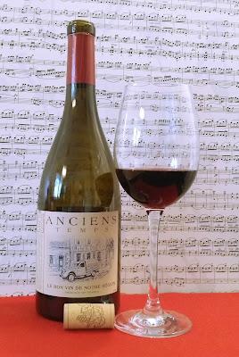 Anciens Temps - francuskie czerwone wino, czyli moje małe przejemności życia!