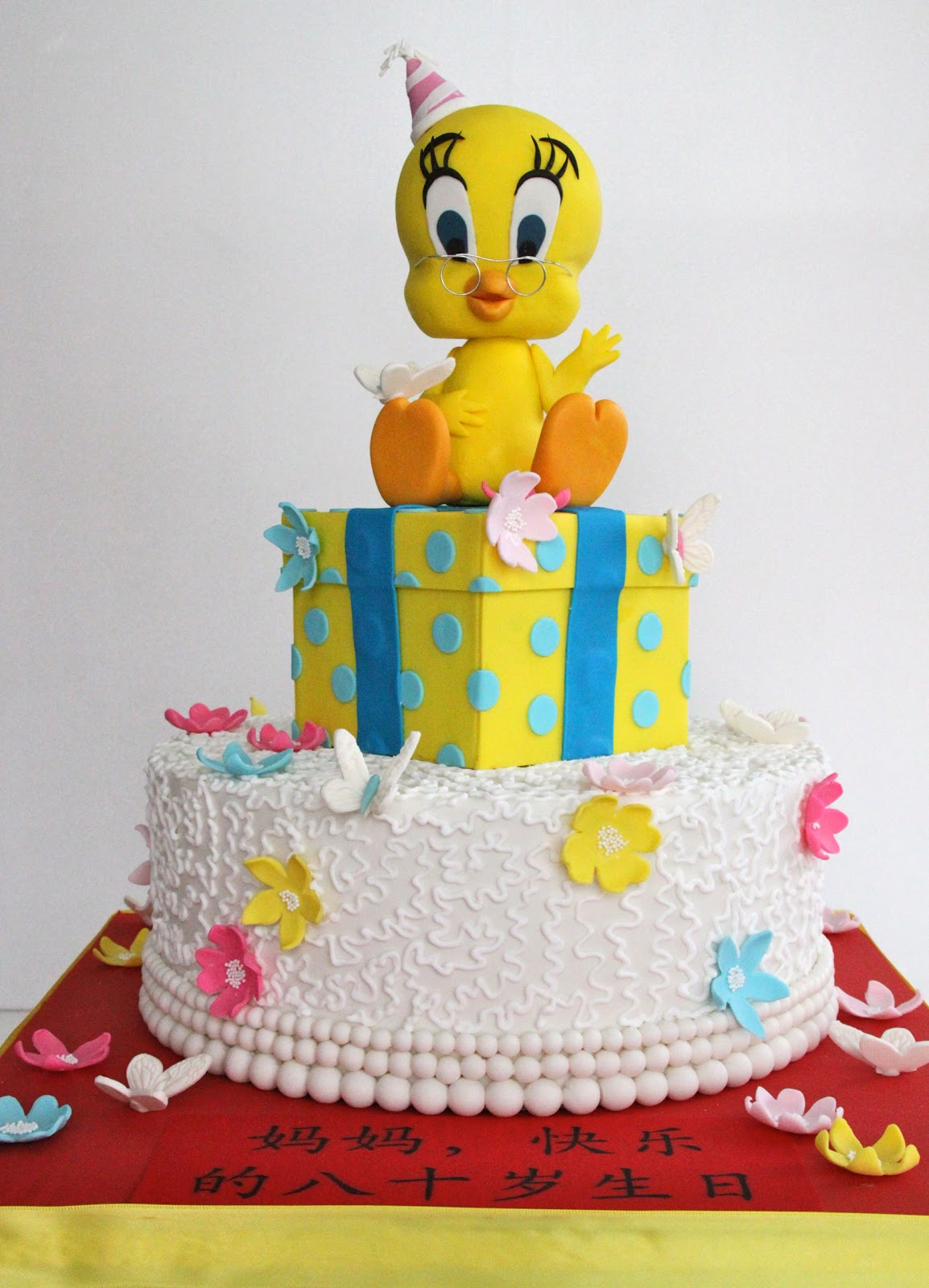 Tweety Bird Birthday Cake