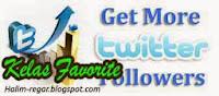 Menambah Follower Twitter
