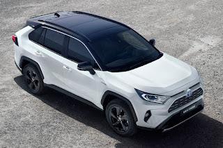 Toyota RAV4 (2019) Front Side