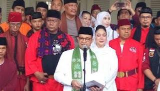 Masya Allah... Begini Dukungan Brigade Jawara Betawi 411 untuk Anies Baswedan