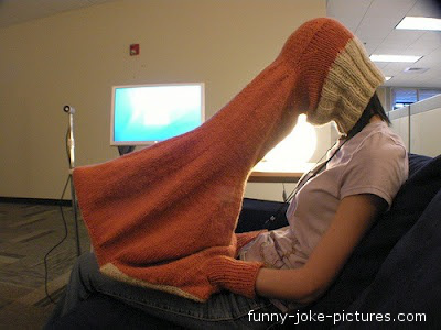 Funny Laptop Computer Privacy Jumper Image