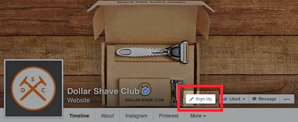 Facebook lance 7 boutons Call-to-Action pour les Pages pros