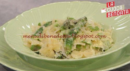 La Cuoca Bendata - Carbonara di asparagi ricetta Parodi