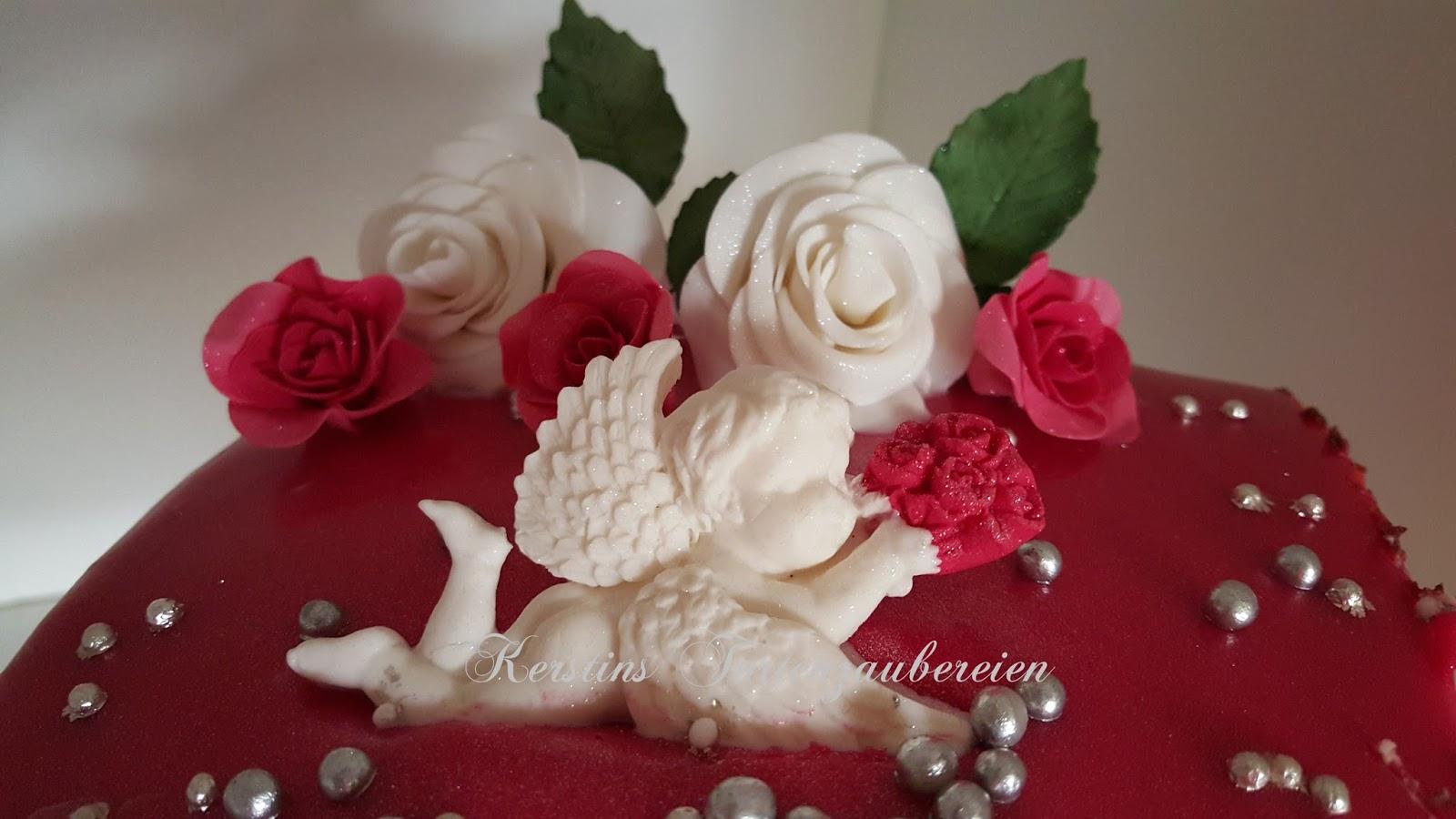 Heute Wünsche Ich Euch Erst Einmal Einen Schönen Valentinstag Und Möchte  Euch Die Torte Für Meinen Mann Zeigen.
