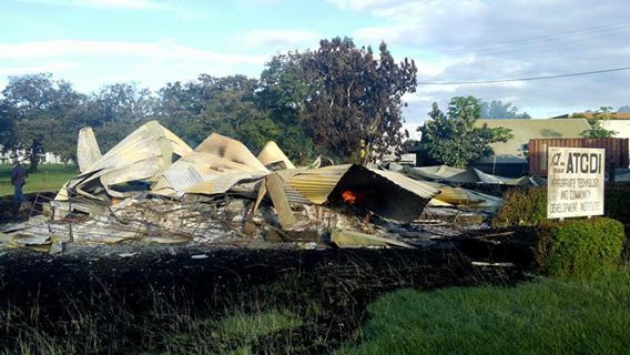 student killed, buildings torched in targeted attack at  PNG  University of Technology