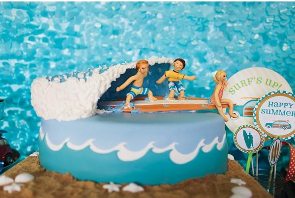 tema surf festa infantil