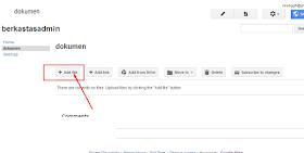 cara upload file site google