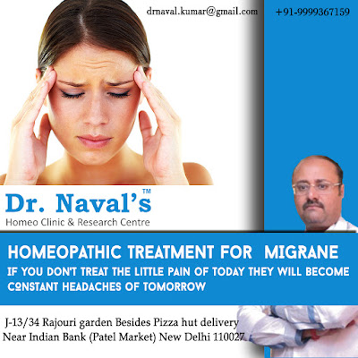 MIGRANE AND ITS TREATMENT THROUGH HOMEOPATHY