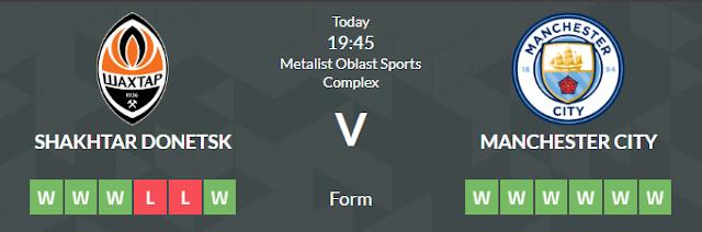 Prediksi Super dan Panduan Taruhan Shakhtar Donetsk vs Manchester City