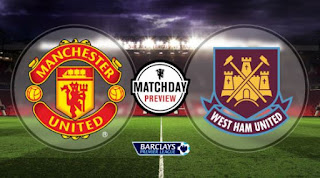 Susunan Pemain Manchester United vs West Ham United