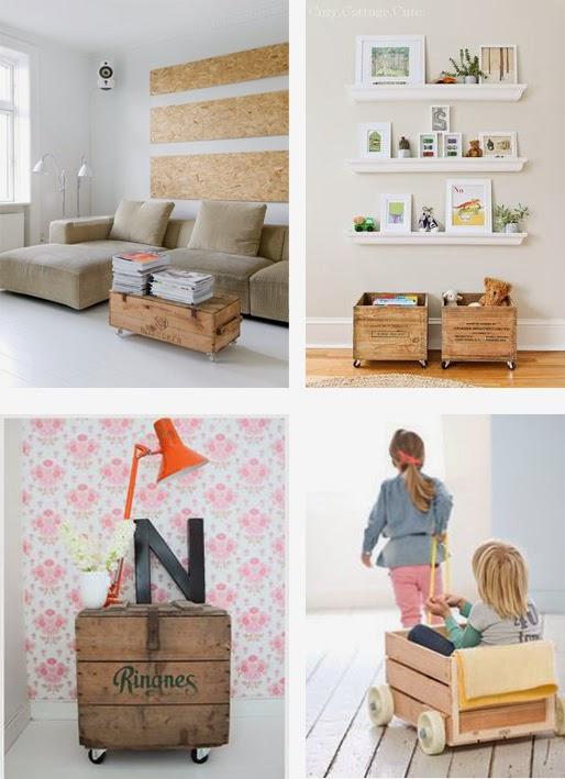 decorar con cajas / Boxes