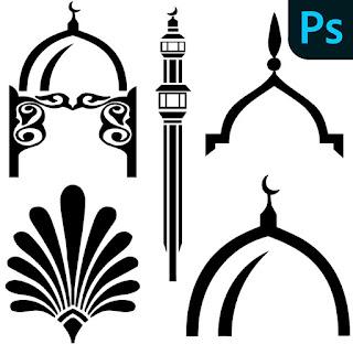 فرش زخارف اسلامية فوتوشوب