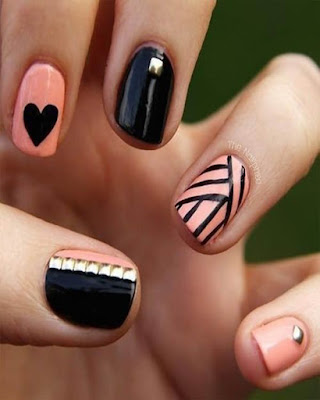 Simple nail desings for teens
