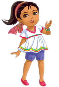 Cartoon Characters: Dora and Friends PNG