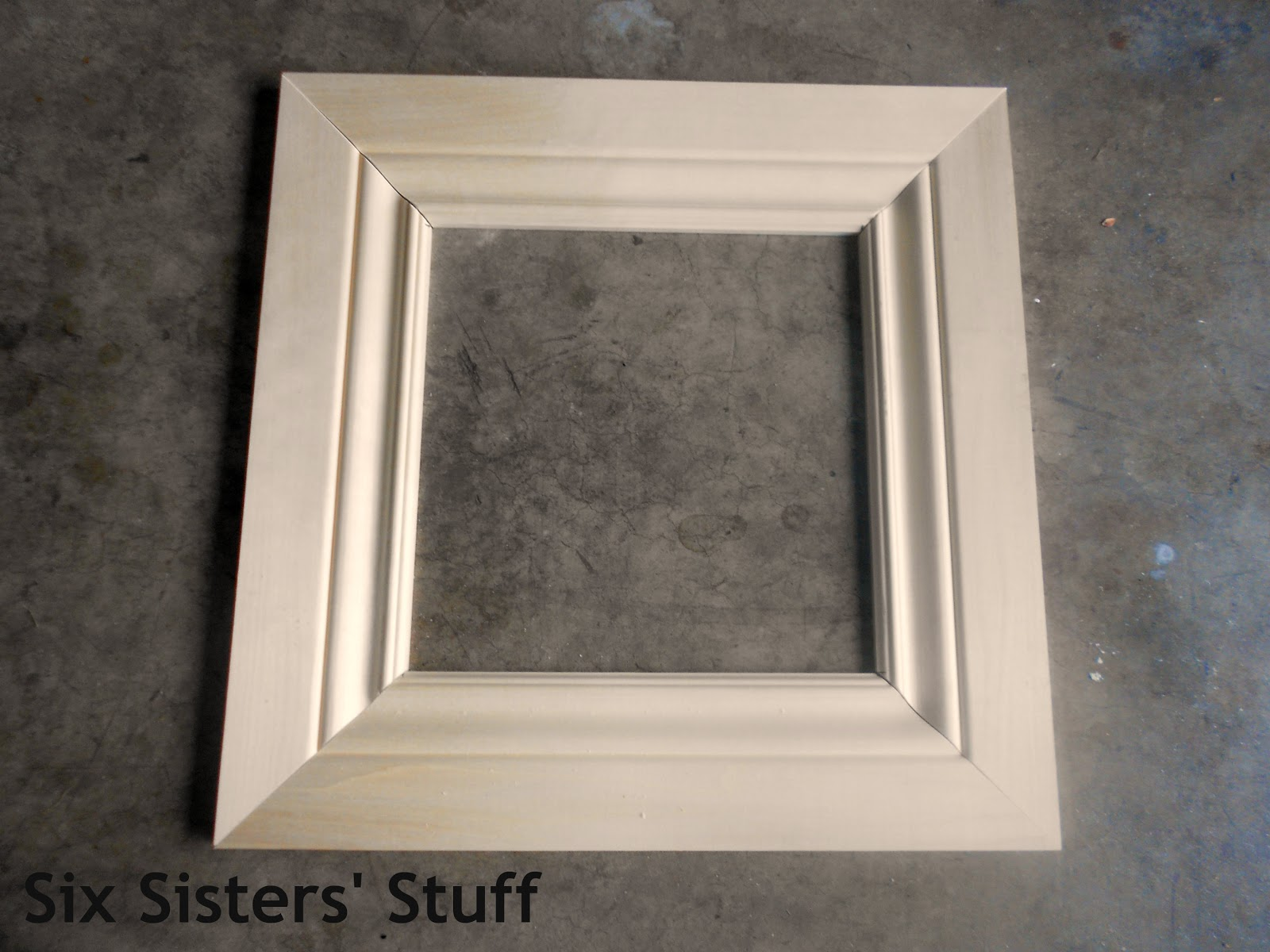 Diy Crown Moulding Picture Frames Lowe S 50 And Change Project Six Sisters Stuff