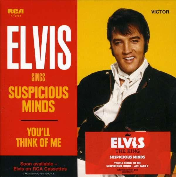 Elvis Presley - Suspicious Minds | No estoy Viviendo