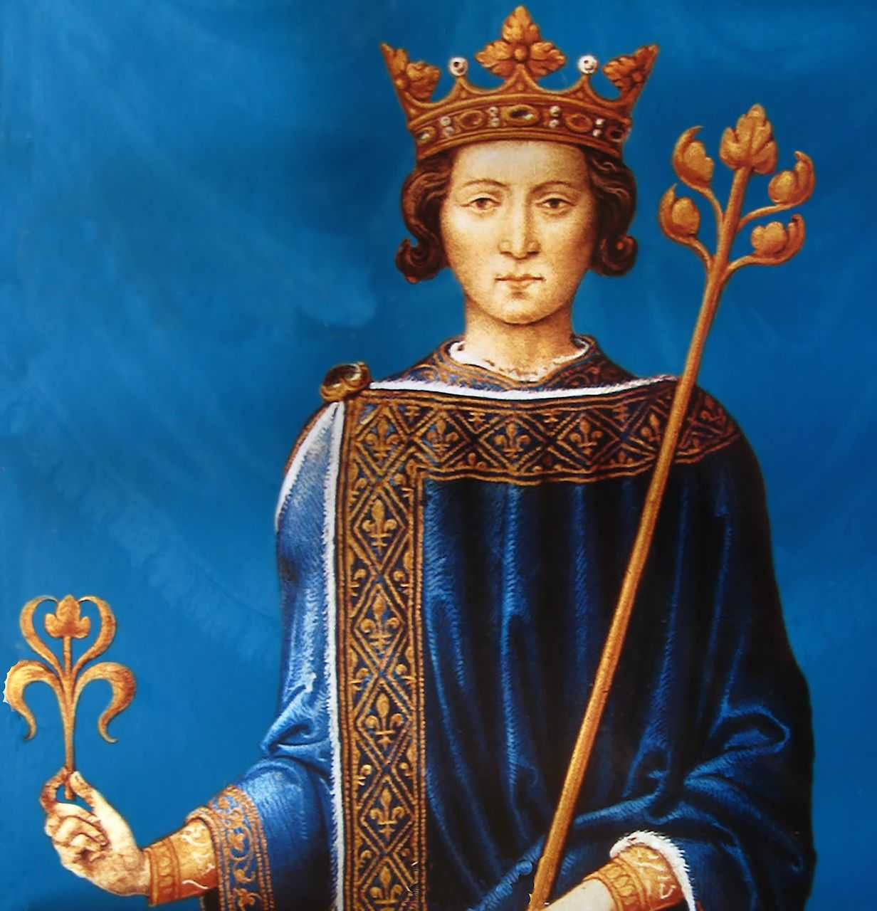 São Luís, rei da França.