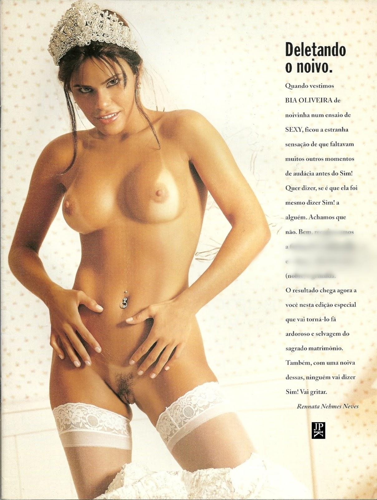 Joana Pelada sexy especial - bia oliveira - famosas brasil