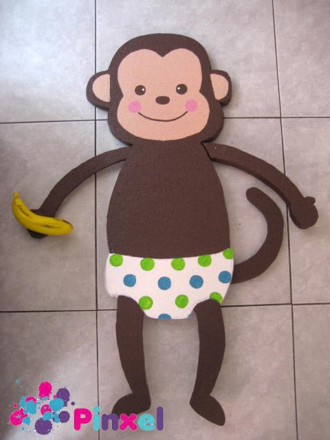 Pinxel, Decoración Souvenirs: Baby Shower Niño Changuitos