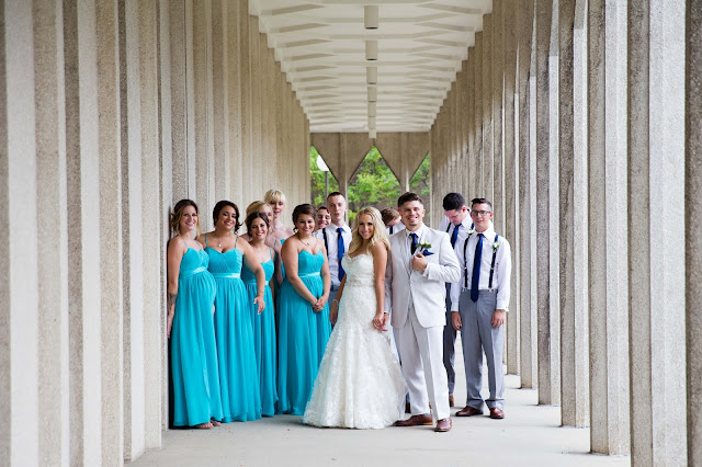 Bridal Party at Wayne State