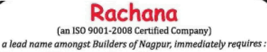 Rachana Construction Co. (P) Ltd, Recruitment 2016 rachanaconstructions.com