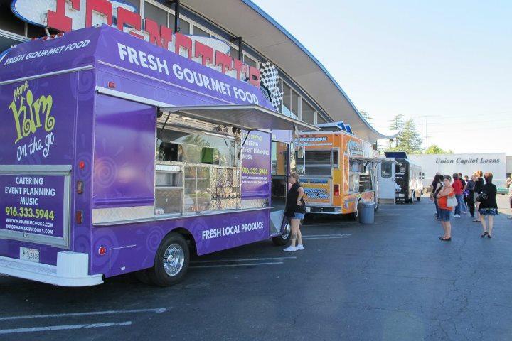 Food Trucks Sacramento Capitol