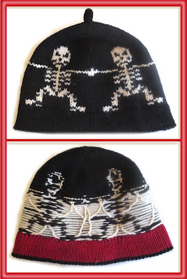 front and back of hat