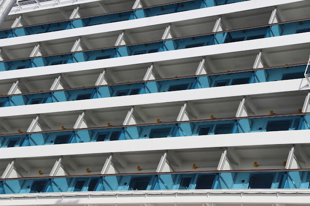 Costa Pacifica lines and shapes