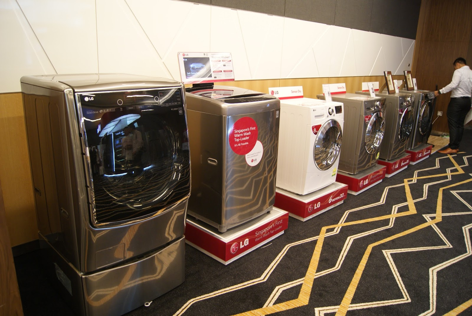 Lg Home Appliances 2015 Line Up Jeremy Sg Jalormee