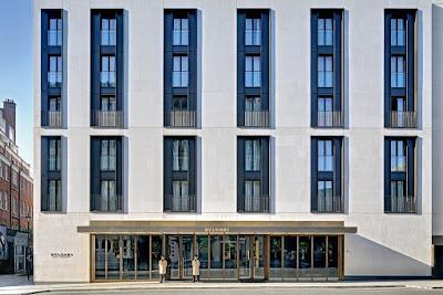 The Bulgari Hotel London is in Knightsbridge