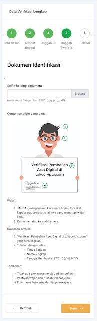 Mudahnya Verifikasi KYC di Toko Crypto Tahap 4