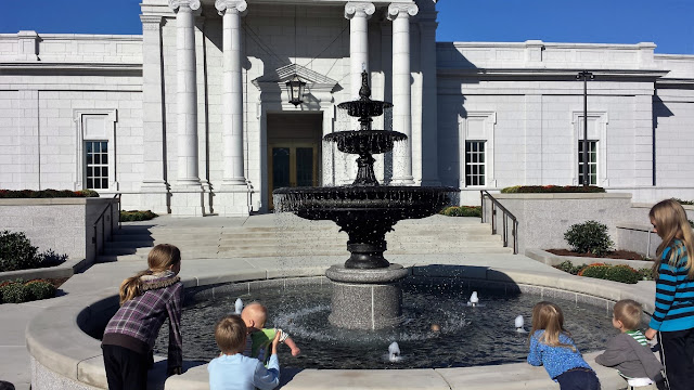Our family took a trip to the open house of the Hartford, Connecticut Mormon (LDS) temple. For some reason I seemed to think this was a good idea at the time.  {posted @ Unremarkable Files}